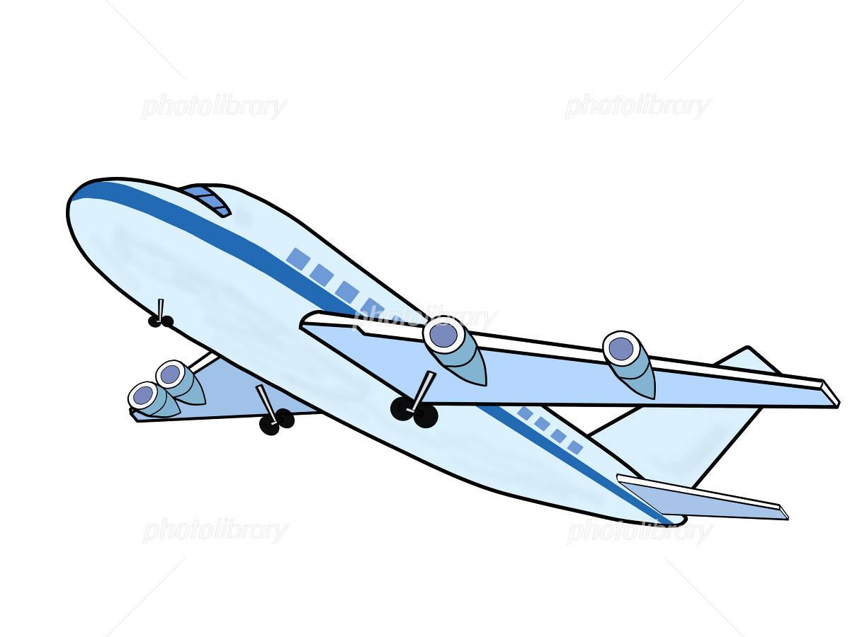 離陸する飛行機 イラスト素材 1891847 フォトライブラリー