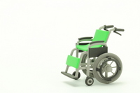 Car chair of clay Stock photo [1879855] Wheelchair