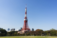 Tokyo Tower Stock photo [1879968] Blue