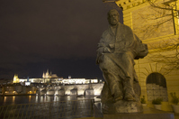Charles Bridge and Smetana image Stock photo [1883224] Europe