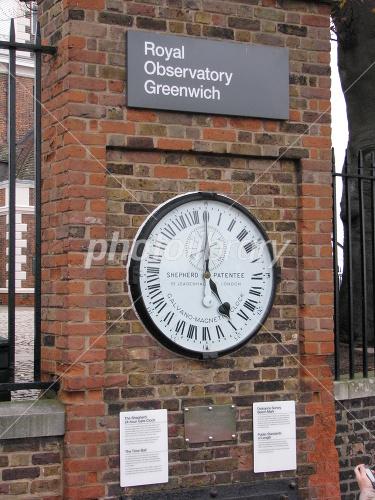 グリニッジ標準時の24時間表示時...