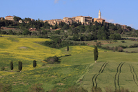 Town of Val d'Orcia and Pienza Stock photo [1991140] Europe