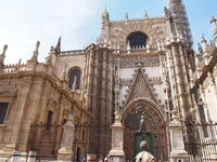 World Heritage Spain Seville Cathedral Stock photo [1992338] Cathedral