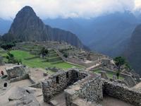 Machu Picchu ruins and Wainapichu Stock photo [1993264] Machu