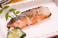 Salt of salmon grilled koji Stock photo [1994951] Grilled