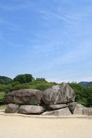 Nara Prefecture stone stage tumulus Stock photo [1996167] Ishibutai