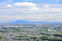 Tsukuba distant view Stock photo [2000287] Blue