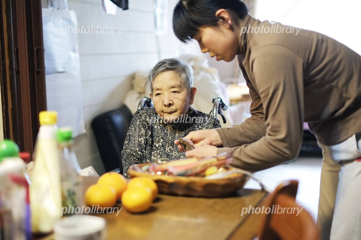 Grandma in the diet Photo
