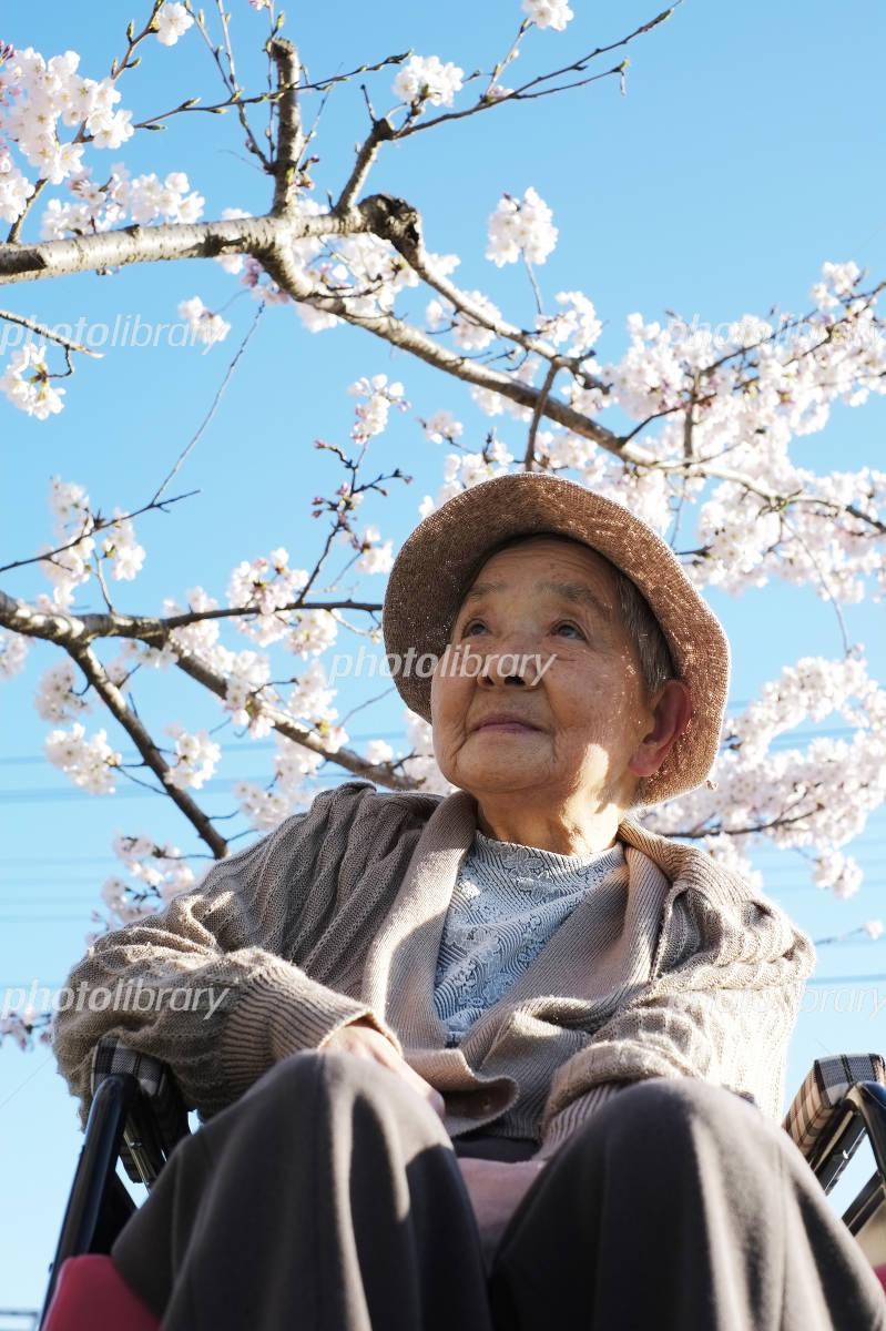 Grandma and cherry Photo