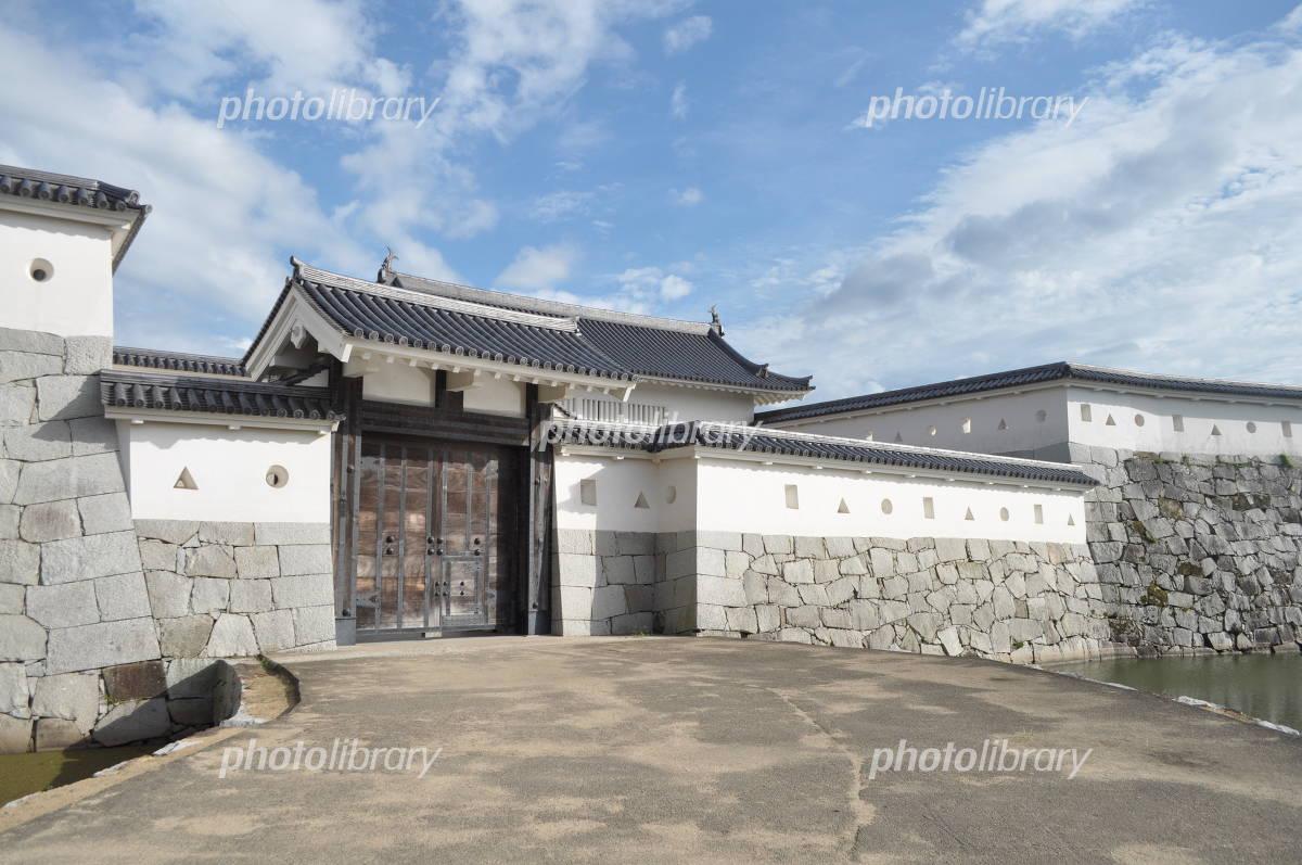 Hyogo Ako Castle gates Photo