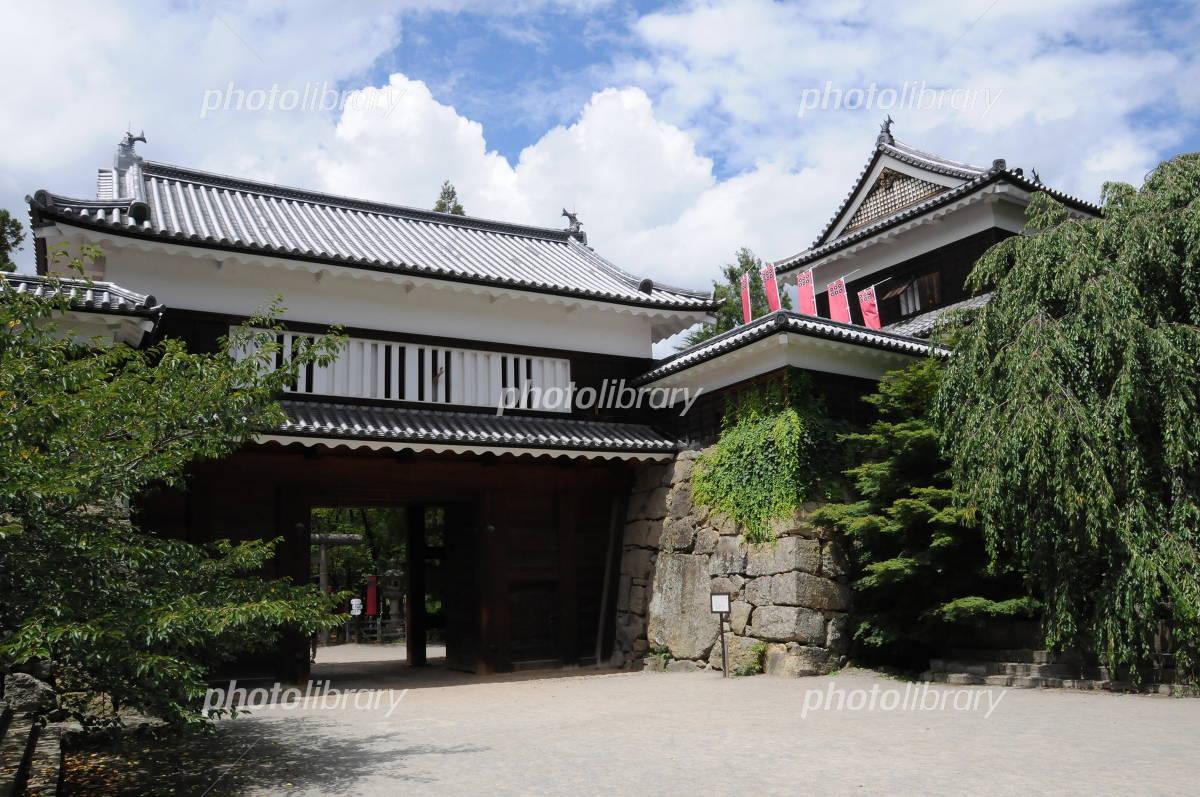 Ueda Castle east Koko Yaguramon Photo