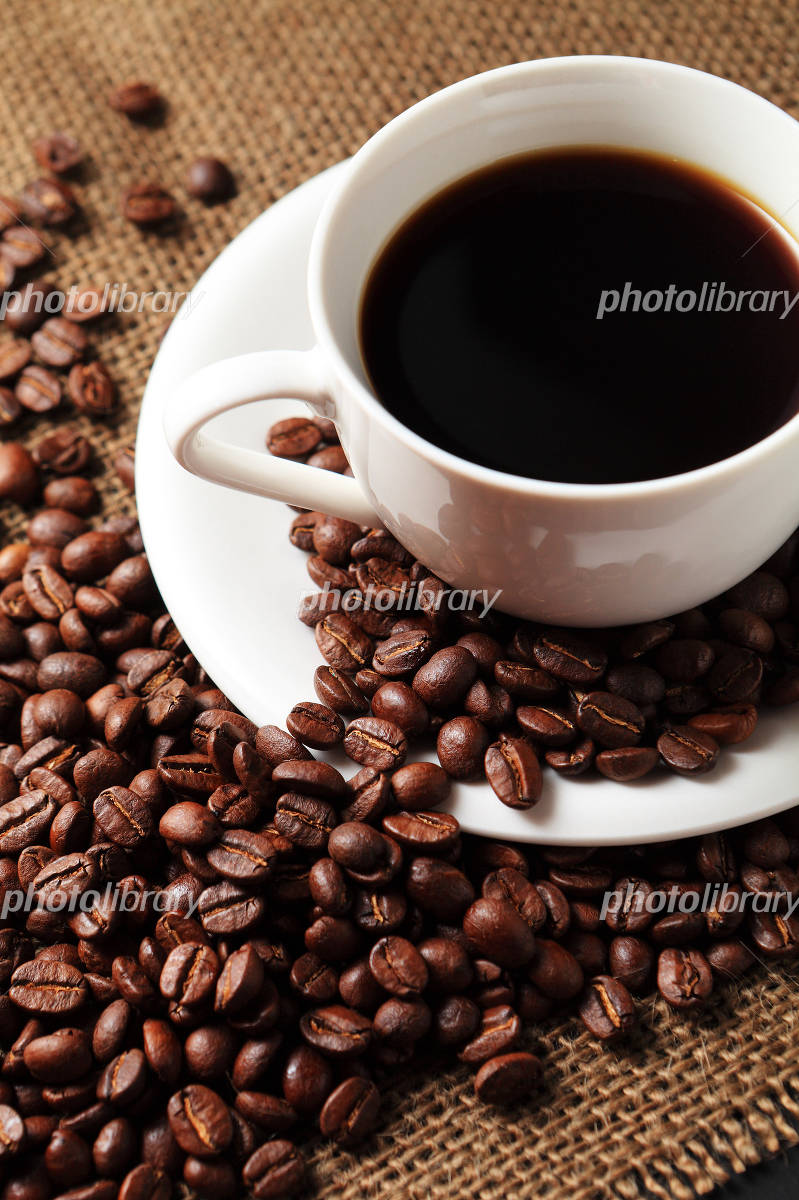 Coffee and coffee beans Photo
