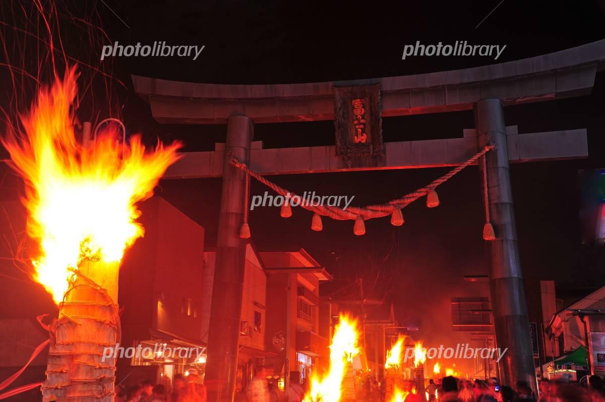 Yoshida of fire festival Photo