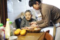 Grandma in the diet Stock photo [2101421] Old
