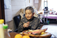 Grandma in the diet Stock photo [2101452] Old
