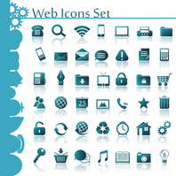 Web Icon Set Web
