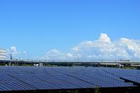 Floating island solar power plant Stock photo [2103262] Mega