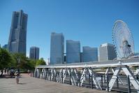 Yokohama Minato Mirai train road Stock photo [2105907] Minato