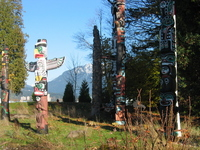 Stanley Park totem pole [Canada] Stock photo [2106048] Totem