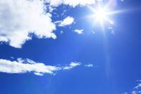 Sunny summer sky Stock photo [2107302] Sunny