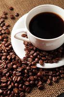 Coffee and coffee beans Stock photo [2108259] Coffee
