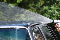 Roof of hand and cars have a car wash Stock photo [2108558] Car