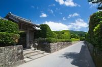 Chiran Samurai group stock photo