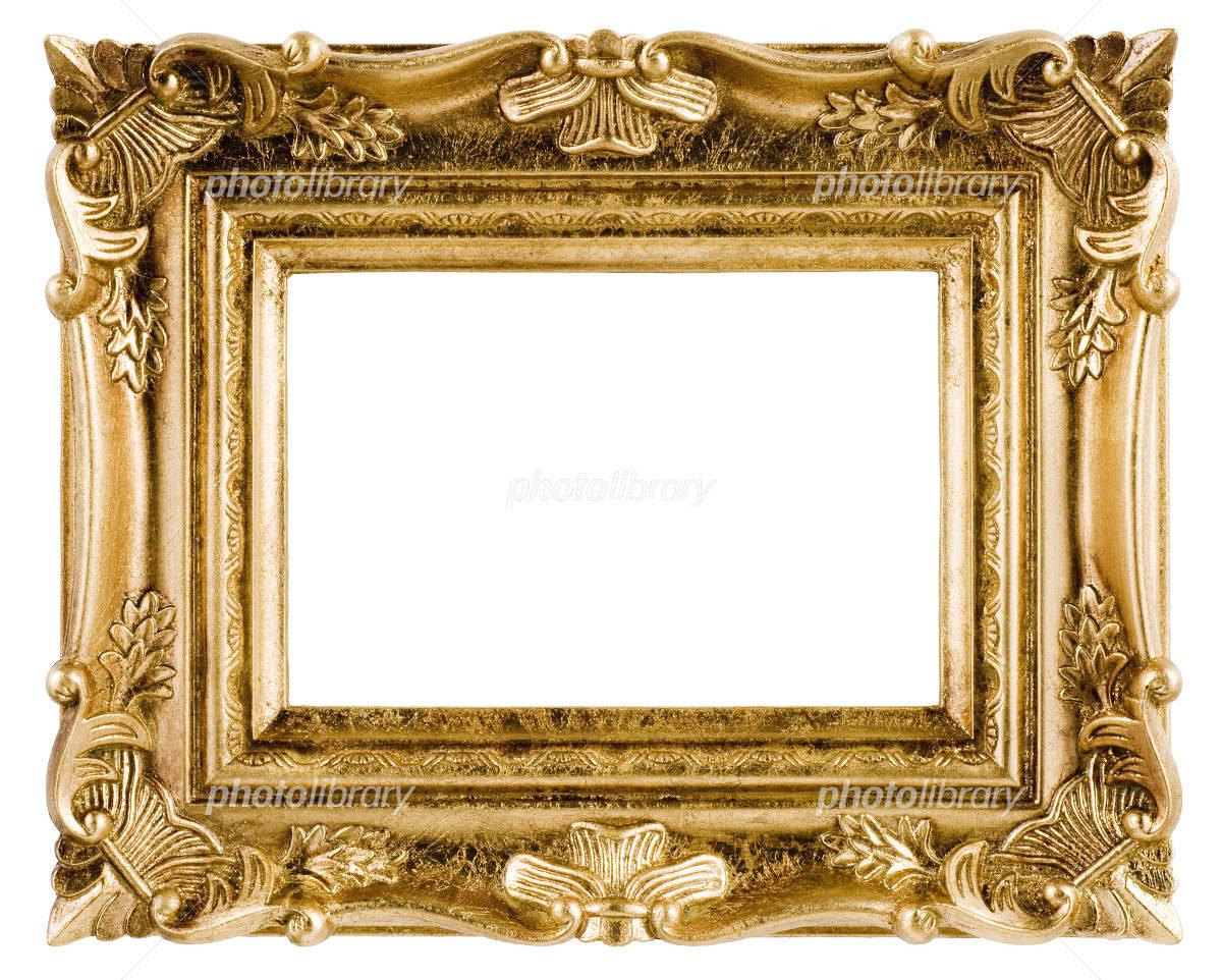 合成用・肖像額(金) 写真素材 [ 2308489 ] - フォトライブラリー ...