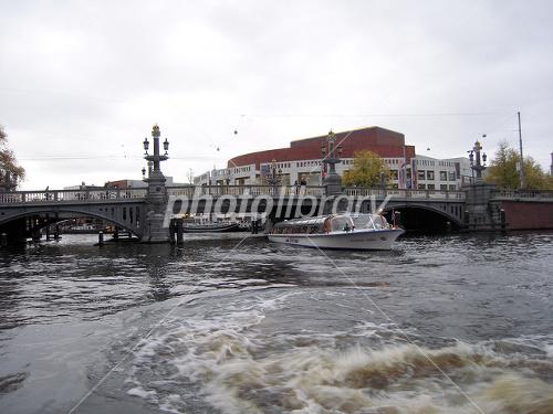 アムステルダムの運河の画像 p1_3