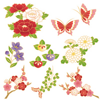 Japanese flower [2196496] Peony