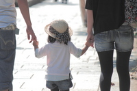 Parent-child Holding Hands Stock photo [2198479] Parent-child