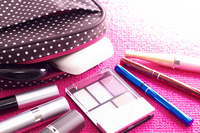 Cute pouch and Cosmetics Stock photo [2202190] Cosmetics