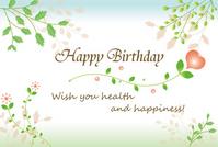 Birthday card [2203650] Arabesque