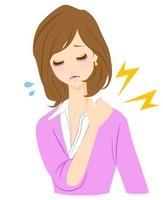 Stiff neck illustrations [2203695] Stiff