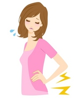 Low back pain illustrations [2203791] Low