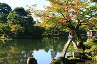 Kenrokuen of autumn colors Stock photo [2209294] Garden