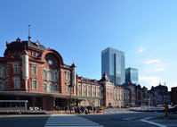 Tokyo Station Marunouchi station building after restoration Stock photo [2212668] Tokyo