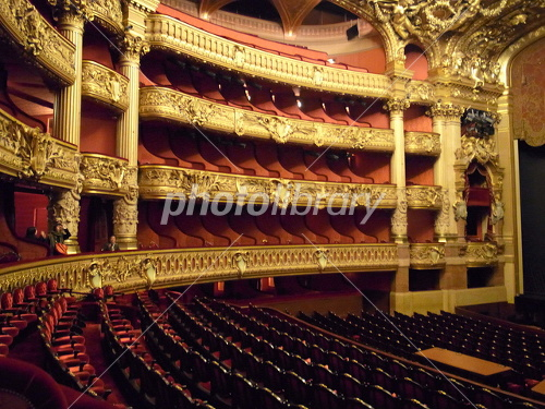 Opera Garnier auditorium Paris Photo