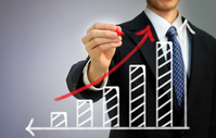 Businessman and graphs Stock photo [2329472] Business