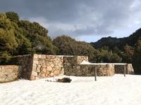 Gassantoda Castle mountains palace of stone wall Stock photo [2330769] Shimane