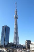 Sunny of Tokyo Sky Tree Stock photo [2332444] Sky