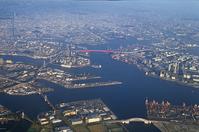 Aerial Osaka Port Stock photo [2332495] Osaka