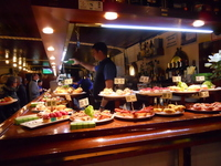 Spain Basque bar Stock photo [2337534] Pintxos