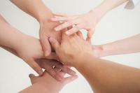 Hand and hand Stock photo [2340358] Hand