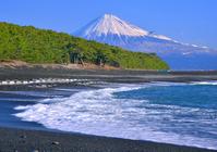 Miho coast stock photo