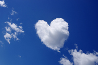 Heart-shaped clouds Stock photo [2342604] Cloud