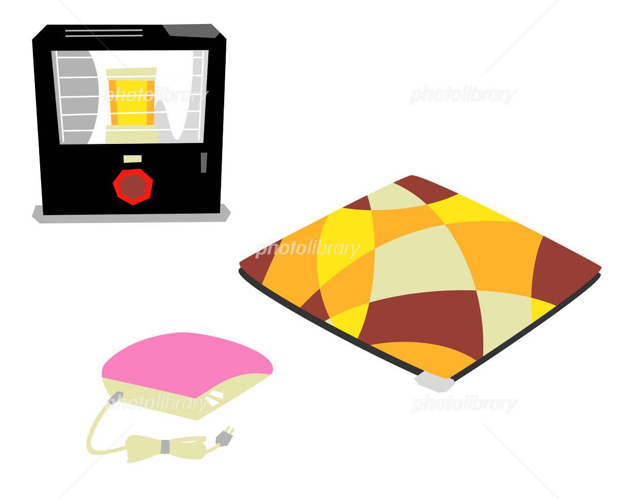 暖房器具 イラストのイラスト素材