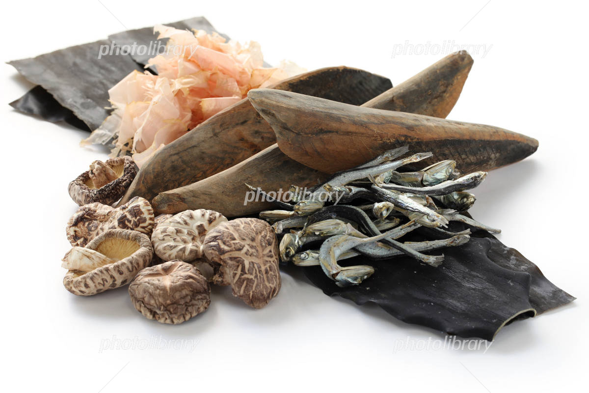 Japanese soup stock material Photo