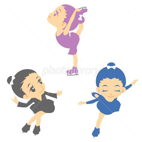 フィギュアスケート イラスト イラスト素材 2467546 フォトライブ