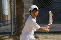Boy to play tennis Stock photo [2454075] Tennis